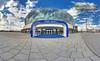 Blue Lane (Nachtwächter) Tags: panorama berlin eastside friedrichshain dri hdr tonemapping o2world