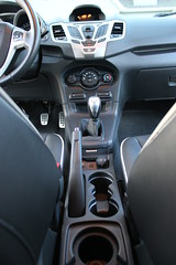 2011 Ford Fiesta Center Console (Bryan Redeker BRGT350) Tags: leather carbonfiber handbrake steeda centerconsole cupholders 3mdinoc fiestamk7 2011fordfiestaforsale