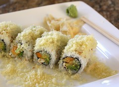 Tempura Dusted Veggie Roll (Vegan Feast Catering) Tags: sushi vegan yum handmade eat rolls
