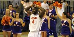 Patric Young Post-Game (dbadair) Tags: basketball war university eagle florida gators auburn tigers sec uf 2014