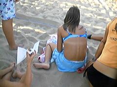 f338207 (DolceaiPiedi) Tags: feet girl foot candid barefoot piedi ragazze amatorial amatoriali