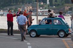 Tight fit in a Fiat 500 _MG_0982 (crispian stones) Tags: del oostenrijk garda italie lermoos partnachklamm peschieradelgarda vakantie2014italielermoospeschiera