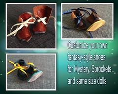 Now available! (Soneekk) Tags: mystery shoes boots elf fairy fantasy connie kane sprockets lowe nefer fantasystyle