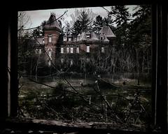Defenestraphobia (rsheill) Tags: abandoned hospital rust urbandecay center haunted urbanexploration hudsonriver derelict psychiatric insaneasylum urbanexplorer