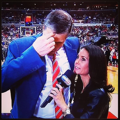 Damn, #WittmanFace, don't do Tracy Wolfson like that.