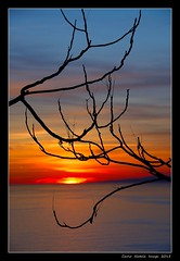Sunset with silhouette (cienne45) Tags: carlonatale cienne45 natale liguria italy camogli ruta sanrocco tramonto sunset silhouette capomele explore