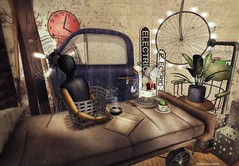 junk. | Love to Decorate AD (AnaisTerpellie | [ zerkalo ] | Shiny Shabby Event) Tags: life art photography junk mesh furniture style sl second ltd decorate anais terpellie
