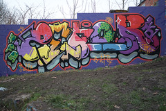 Zenor (tombomb20) Tags: park street art wall graffiti paint tag leeds spray hyde lettering graff klone 2061 rosebank tfa 2015 zenor tombomb20 zenor2061 klonism