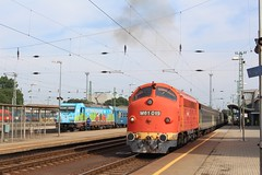 Traxx 480 012 and Nohab M61 019 (pepictures) Tags: train mav mv nohab