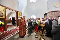 59. Paschal Prayer Service in Svyatogorsk / Пасхальный молебен в соборном храме г. Святогорска