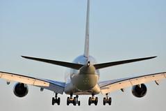 QR0009 DOH-LHR (A380spotter) Tags: london heathrow landing finals airbus a380 arrival approach 800 qr lhr qatar threshold qatarairways qtr egll  27l runway27l shortfinals dohlhr a7apc qr0009 msn0145  alkharrrah