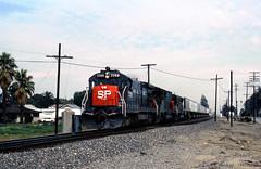 Sun Pig-1 (GRNDMND) Tags: california ontario trains sp locomotive ge railroads southernpacific espee sd45 emd sd45t2 b307