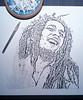 The Singer (WⒶlden) Tags: streetart stencil jamaica reggae rasta bobmarley pochoir schablonen plantilla sansalvario