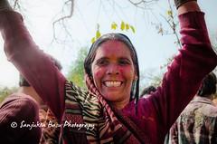 Barsana Nandgaon Lathmar Holi Low res (14 of 136) (Sanjukta Basu) Tags: holi festivalofcolour india lathmarholi barsana nandgaon radhakrishna colours ruralwomen indianwomen ruralindianwomen marginalized gender strongwoman