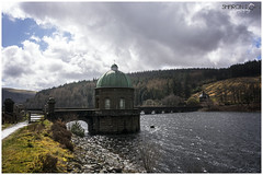 Caban Coch Reservoir (Sharon Dow Photography) Tags: uk bridge mountain holiday church nature water beautiful wales architecture clouds rural trekking wow walking landscape religious outdoors countryside nikon scenery gate worship view britain hiking bricks religion ngc chapel arches reservoir breconbeacons hills valley attractive fields waterworks naturalworld cloudporn powys retainingwall midwales mountainrange placeofworship stbrides 2016 elanvalley stbrideschurch cabancochdam theblackmountains victorianchurch elanriver cabancochreservoir masonrydam nikond7100 sharondowphotography nantgwylltchapelofease april2016 mynyddoeddduon