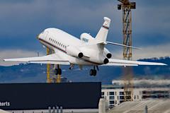 N1818S_01 (GH@BHD) Tags: corporate aircraft aviation falcon executive falcon900 dassault trijet bizjet egac bhd belfastcityairport falcon900ex n1818s stephensgroup