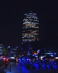 Conociendo el otro Santiago (GustavoDuby) Tags: chile city luz luces noche calle nikon phone ciudad celular exposicion larga longexpo