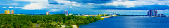 Panoramic view of the skyline of Fort Myers, Florida U.S.A. along the banks of the Caloosahatchee River (Lago Tanganyika) Tags: city urban usa architecture cosmopolitan downtown cityscape metro florida panoramic highrise metropolis metropolitan condominium leecounty centralbusinessdistrict fortmyers southwestflorida sunshinestate