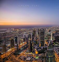 Dubai sunset (Alan Dreamworks) Tags: leica travel sunset red dubai uae getty summilux 21mm