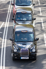 Taxis on London Embankment (Joe Dunckley) Tags: road street uk england people london westminster person traffic cab taxi transport cabbie trafficjam embankment cityofwestminster