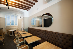 _DSC1146 (fdpdesign) Tags: arredamenti shop design shopdesign nikon d800 milano italy arrdo italia 2016 legno wood ferro sedie tavoli locali cocktails bar interni architettura