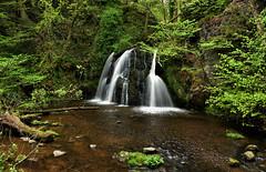 Fairy Glen (UndaJ) Tags: scotland waterfall highlands smooth inverness