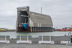 Shipyard (AstridWestvang) Tags: building industry denmark coast boat harbour hirtshals shipyard