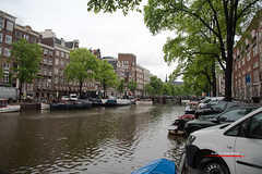 Canals (aavee77) Tags: travel holland rain amsterdam architecture cityscape tourist canals nederlands jordaan