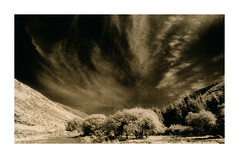 Wicklow Valley (Vincent's Photo Album No.1) Tags: bw film print infrared lith hie