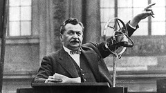 Otto Wels, the only man to publicly speak against Adolf Hitler's Enabling Act of 1933, which would eventually give Hitler the power to enact laws without the involvement of the Reichstag, March 1933 [680x383] #HistoryPorn #history #retro http://ift.tt/1WY (Histolines) Tags: man history against march power hitler retro give reichstag otto only timeline would adolf involvement which without act speak laws hitlers 1933 wels vinatage eventually enact enabling publicly historyporn histolines 680x383 httpifttt1wys80t
