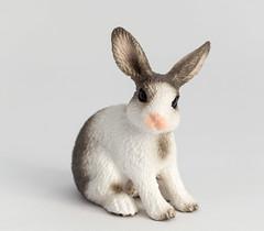Rabbit (Mathias L.) Tags: macro animals kids fun toys plastic whitebox schleich