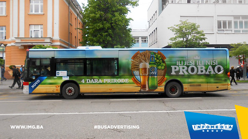Info Media Group - Lav pivo, BUS Outdoor Advertising, Banja Luka 05-2016 (1)
