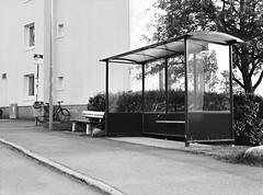 Bus Station on Filipstadsbacken (Mister.Marken) Tags: kodak trix busstop m645 kodaktrixfilm