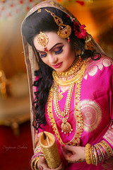 Untitled (Safaria Suhas) Tags: life red portrait love photography bride costume outdoor dhaka weddings bangladesh megenta