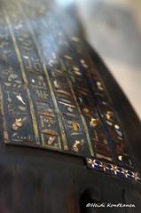 Decorated coffin (konde) Tags: wood glass ancient priest coffin hieroglyphs graecoroman ptolemaicperiod tunaelgebel petosiris mummycoffin