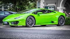 Lamborghini in green (wigerl) Tags: auto light italy green austria licht sterreich europa europe fuji foto krnten carinthia lamborghini supersport lambo velden sportwagentreffen fujixt1 fujixc18135mm