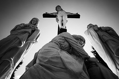Layer Stack Black and White (Wired Design Solutions) Tags: faith christ risen jesus cross crucifix statue batis2818 sonya7ii sony a7ii abandoned abandonedplaces decay religion christian christianity