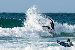 Buckets (Warbey) Tags: surfing cornwall kernow stives st ives extreme sports ocean wave waves atlantic