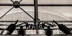 Metropolis (prodicio) Tags: madrid bw arquitectura samsung trains ave metropolis arquitecture atocha nx1000