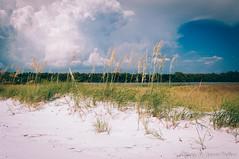 Fort Desoto (corran105) Tags: summer storm color beach stpetersburg landscape coast sand tampabay outdoor dune scenic shore polarizer desoto fortdesoto centralflorida ftdesoto pinellascounty stpetersburgfl vsco vscofilm