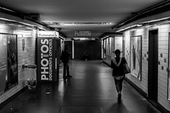 Metro Pont de Neuilly (Nikan Likan) Tags: street white black paris art station subway photography dc metro sigma f18 | 2016 1835mm hsm