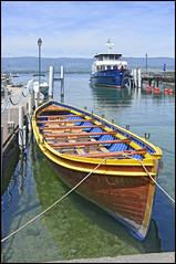 Dans le port d'Yvoire (wilphid) Tags: lac bateau lman hautesavoie yvoire chablais