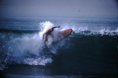 12-1969- Redondo Surf (2) (foundslides) Tags: redondobeach ca calif california analog slide slides irmalouiserudd johnhrudd foundslides kodachrome kodak vintage surfer surfers surfing breakers wave waves sports water ocean sea seasid 1969 1960s transparencies rudd irma wetsuit wet december socal southbaycameraclub south bay southbay usa surfboard