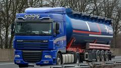 PL - Szarkowicz DAF XF 105.460 SC (BonsaiTruck) Tags: truck silo lorry camion trucks 105 bulk lastwagen daf lorries lkw xf ffb citerne lastzug silozug feldbinder powdertank szarkowicz