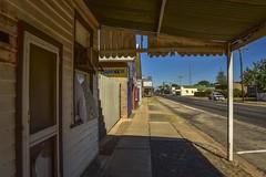 Sea Lake (phunnyfotos) Tags: phunnyfotos australia victoria vic mallee sealake shop shops store stores closed verandah veranda footpath sidewalk pavement mainstreet countrytown rural nikon d750 nikond750 door