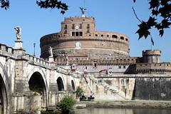 Castel Sant Angelo (Alan1954) Tags: bridge italy holiday rome castle europe tiber castelsantangelo 2016 platinumpeaceaward