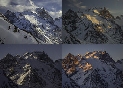 24 hours of La Meije (z000p) Tags: new old trip travel blue winter light red white mountain snow news black france alps color colour green art me colors yellow alpes sunrise canon landscape geotagged fun la photo europe european colours dramatic filter montage rt android sunet bts hoya 6d meije ef24105mm