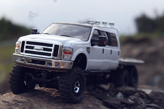 Ford F-350 6 door 6wd 18 (My Scale Passion) Tags: ford 6x6 scale rock truck bed flat micro extended rc mrc f350 crawler lifted losi 6wd 6door myscalepassion