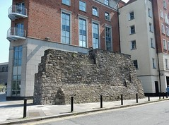 A Bit Of Old Dublin (mikecogh) Tags: street old dublin history wall apartments bit