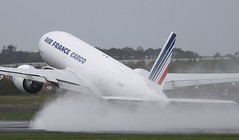 F-GUOC Air France B777-200F Glasgow Prestwick 12/5/13 (Pwkman) Tags: france scotland airport aircraft aviation boeing 777 airfrance prestwick pik freighter ayrshire gpa prestwickairport southayrshire egpk glasgowprestwick fguoc